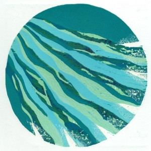 houtsneden Zonnelied - Zuster water - MM Schwarz