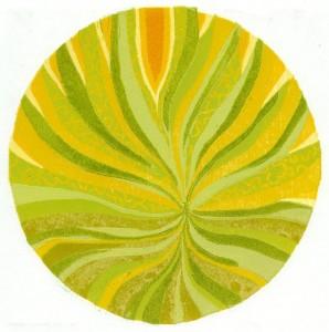houtsneden Zonnelied - Moeder Aarde - MM Schwarz