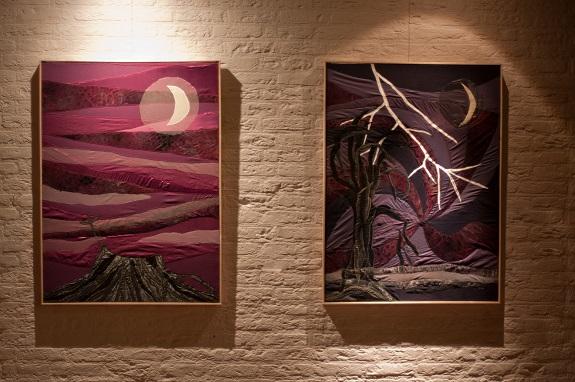 kleden symboliek van bomen, exposities van Veelstemmig Licht