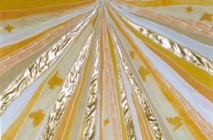 textiel-applicatie Symboliek van het Licht - Monica Schwarz