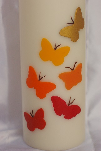 aars met vlinders - Veelstemmig Licht
