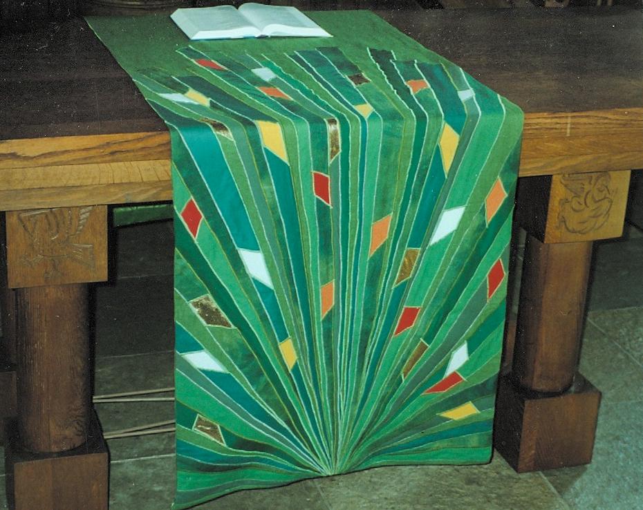 Serie liturgische kleden Leven in het licht