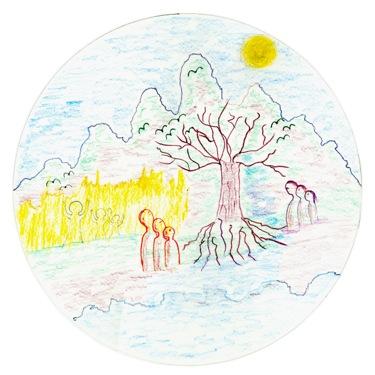 Meditatief mandala tekenen in De Lichtkring