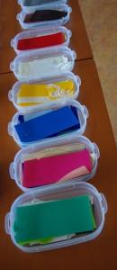 gekleurde was voor workshop kaarsen maken - Veelstemmig Licht