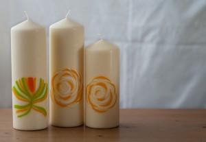 kaarsen Zonnelied werkwijze van Veelstemmig Licht