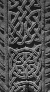 Keltische knopen op kruis